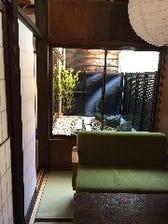 ■坪庭の見える完全個室を完備☆