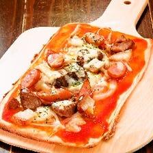 ミート&チーズピザ