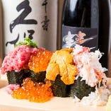 【おすすめ!】特選のっけこぼれ寿司