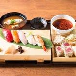 松定食(寿司&天ぷら)