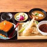 梅定食(升寿司&天ぷら)