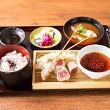 竹定食(天ぷら)