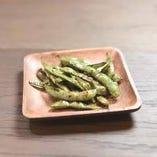 北海道産黒枝豆の焦がしバター醤油