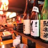 日本酒・焼酎もご用意しています!
