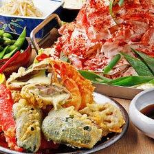 山盛りの新鮮野菜×ピリ辛スープ♪お肉もたっぷり楽しめる鉄板鍋『名物ちり鉄板コース』120分飲み放題付