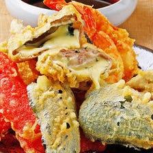 産直鮮魚など、厳選素材を映え盛で!