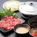 """選べる鍋""""豚しゃぶ鍋"""""""