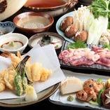 選べる鍋が自慢のコース2,000円~ 各種ご宴会に最適な飲み放題可