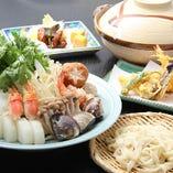 """選べる鍋""""うどんすき"""""""