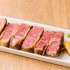 肉の旨みを多方面で味わう創作料理