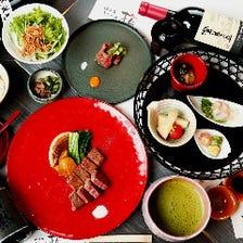 神戸牛や新鮮魚介の鉄板料理