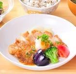 おぼんの定食-お肉の定食-