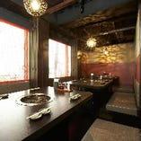テーブル席2~14名・個室あり・貸切30名様から可能です