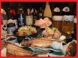 【ご宴会】 飲み放題付4000円~。ボリュームも味も大満足!!