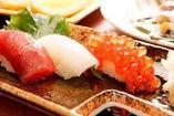 板前のこだわり!お寿司も絶品です。