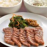 ランチ牛たん定食 -塩味、みそ味、ミックス-