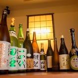 福島の地酒もご用意しております。