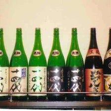 種類豊富な日本酒をご用意しています