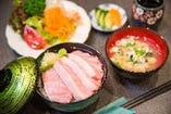 本まぐろ丼(1日5食限定)