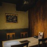 ■5名様までのテーブル個室