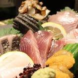 当店自慢の刺盛りは、必食!旬の鮮魚が楽しめます☆