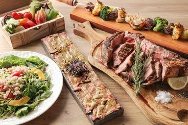 グリル&バーベキュー プラチナミート 白金肉  コースの画像