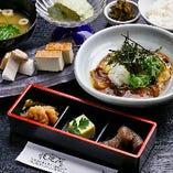 <ランチ>豆腐と吉野産きのこの御膳 1,200円