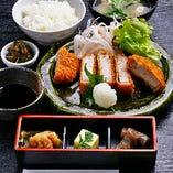 <ランチ>大和ポークのおろしカツ膳 1,280円