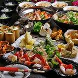 ご予算、シーンに合わせて選べる5種類の宴会コース!