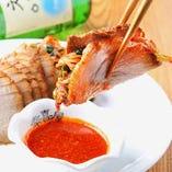 ポッサム(白菜キムチ+チョジャン付)
