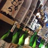 焼酎や日本酒にも力を入れております