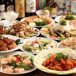 オーダー式食べ飲み放題料理90品3,500円・130品3,980円!
