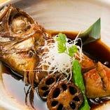 旬魚の煮物