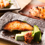 旬魚の西京焼き