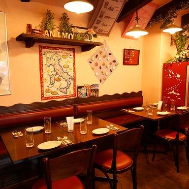 ナポリピッツァと 南イタリア料理のお店 アニモ 店内の画像
