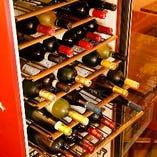 イタリア産のワインを多数取り揃えてます