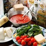 材料一つ一つにこだわったAnimoの南イタリア料理をご堪能ください