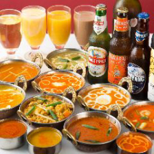 本格的なインド料理を堪能できる