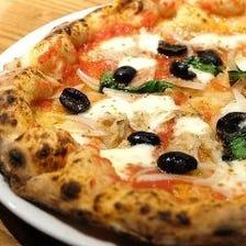 じっくりと発酵させた至福のピッツァ