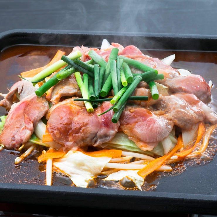 席ゆったり【羊!ジンギスカンコース】2h飲み放題+お料理9品★3500円(税込)