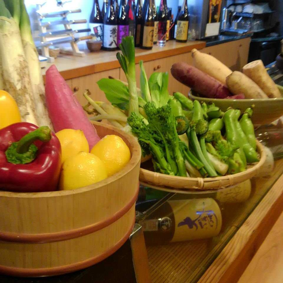 厳選の野菜