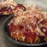 お好み焼きランチ(ブタ、イカ、エビ) ★サラダ、ご飯、赤出し or サラダデザート付き