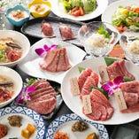 前菜から食後のデザートまでフルコースでお愉しみいただけるコースプランを複数ご用意。