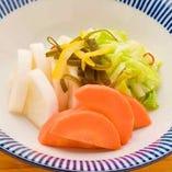 白菜と大根のゆず漬け