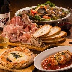魚介イタリアンと薪ピザイルアフェット