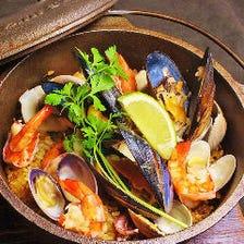 魚介が主役!絶品の地中海料理