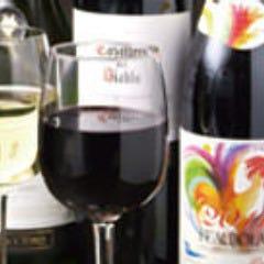 ワイン(ボジョレーあります)