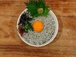 串木野産 釜揚げしらす丼 定食