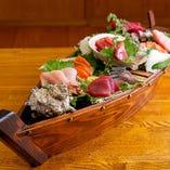 板前の目利きで選んだ新鮮魚!