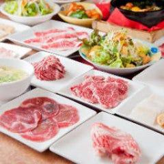 焼肉しゃぶしゃぶ食べ放題 はや まんぷく市場 宗右衛門町店 コースの画像